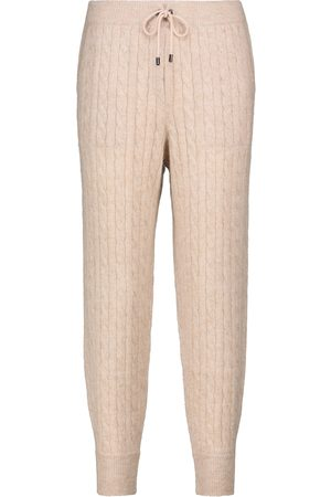 Brunello Cucinelli Cable-knit sweatpants