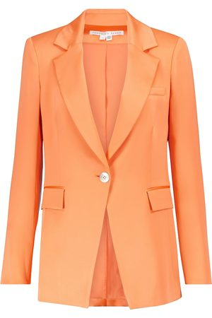 VERONICA BEARD Women Blazers - Erie satin blazer