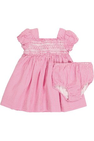 Ralph Lauren Baby gingham dress and bloomers set