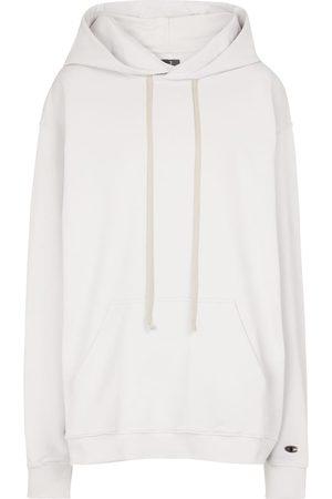Rick Owens Women Hoodies - X Champion® cotton hoodie