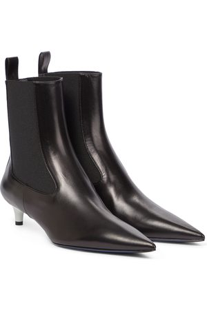 Jil Sander Women Ankle Boots - Leather Chelsea boots