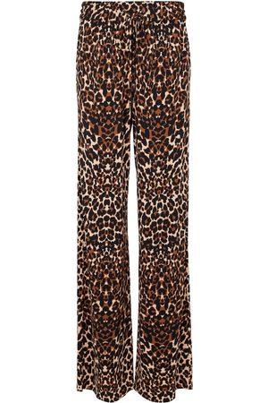Tom Ford Leopard-print wide-leg pants