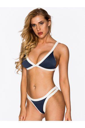 YOINS Sexy Bodycon Bikini Set Beach Swimwear in