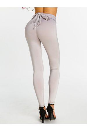 YOINS Active Bowknot Design High Waist Leggings
