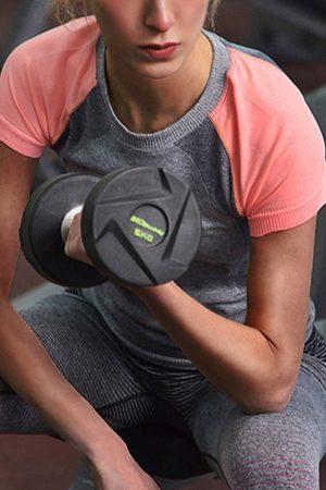 YOINS Women Sports T-shirts - Pink & Grey Color-Block Gym T-shirt