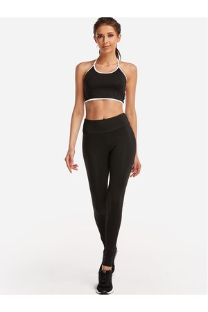 YOINS Women Tracksuits - Active Cut Out Elastic Tracksuit in