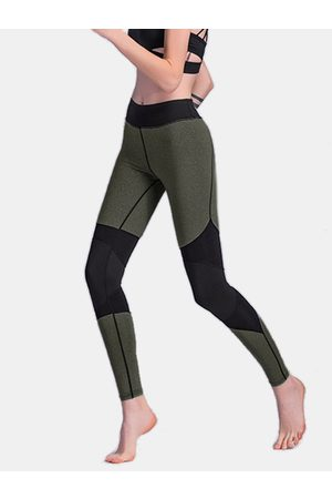 YOINS Active Stitching Design High-Waisted Sports Leggings in