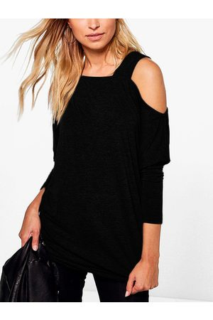 YOINS Off The Shoulder Long Sleeves T-shirt
