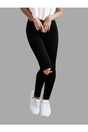 YOINS Fashion Cut Out Yoga Leggings