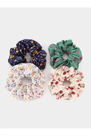 YOINS 1pc Calico Pattern Scrunchie