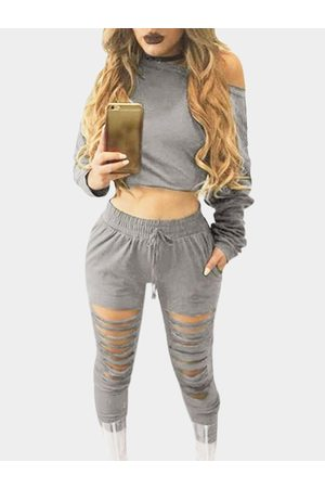 YOINS Two Piece Outfits with Cut Out Details