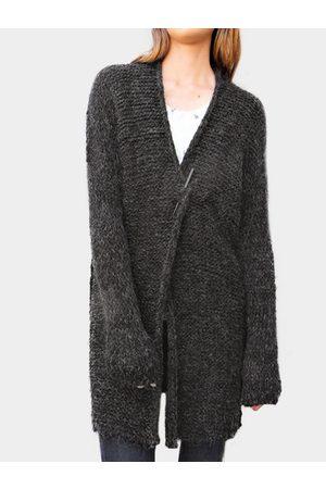 YOINS Women Long Sleeve - Dark Knitting Long Sleeves Loose Cardigans