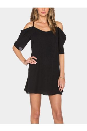 YOINS Cold Shoulder Mini Dress
