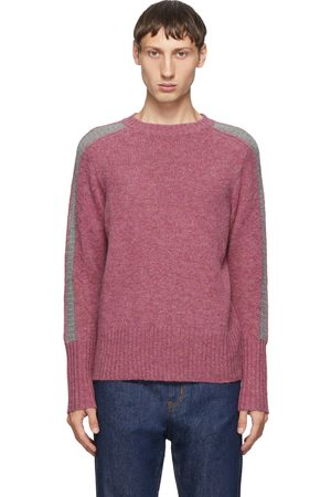 Random Identities Wool Bicolor Crewneck