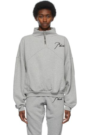 Rhude Quarter Zip Sweatshirt