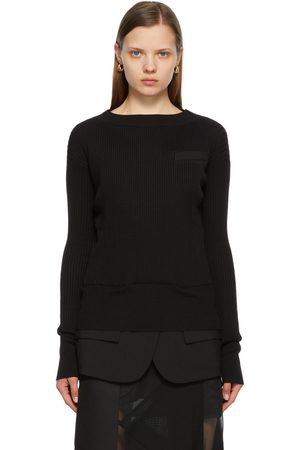Sacai Knit Suiting Pullover Sweater
