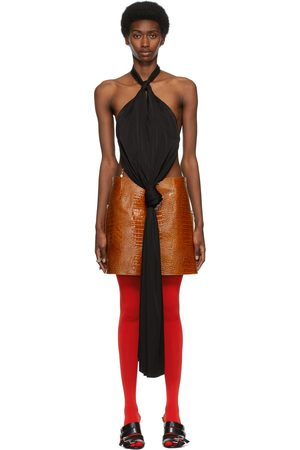 Givenchy Open Back Knotted Halter Top