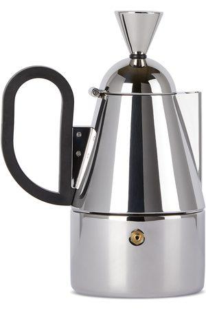 Tom Dixon Silver Brew Stove Top Coffee Maker, 200 mL