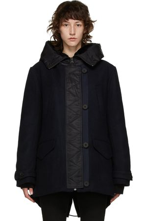 Yves Salomon - Army Navy Wool Hooded Parka