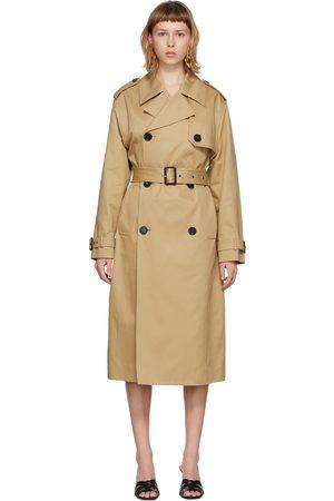 Saint Laurent Gabardine Trench Coat