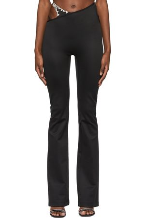 AREA Asymmetric Strap Flare Lounge Pants