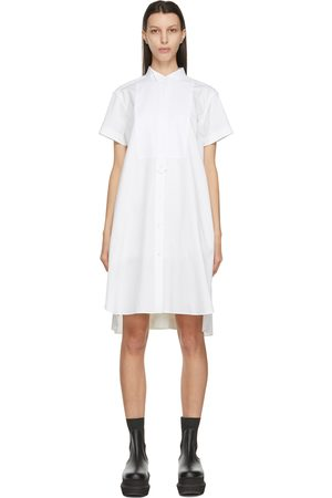 Sacai Poplin Shirt Dress