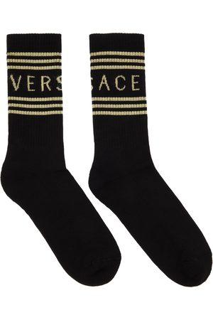 Versace & Off-White 1990s Logo Socks