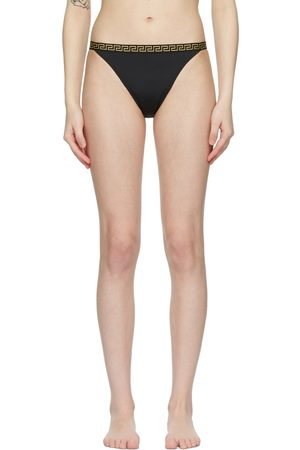 Versace Underwear Greca Border Bikini Bottoms