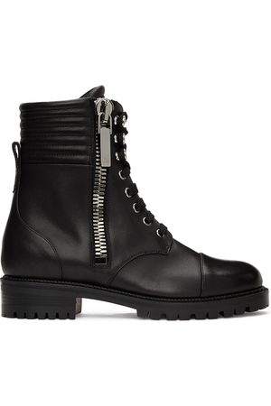 Christian Louboutin Leather En Hiver Ankle Boots