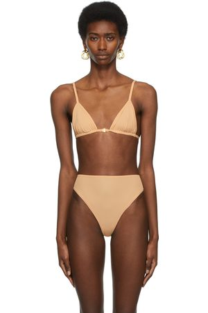 SKIMS Beige Jelly Sheer Triangle Bralette