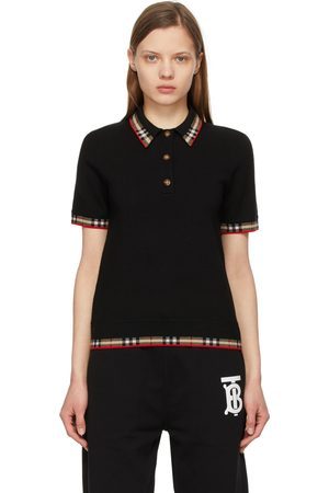 Burberry Check Trim Lola Polo