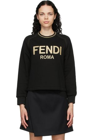 Fendi Embroidered Logo Sweatshirt