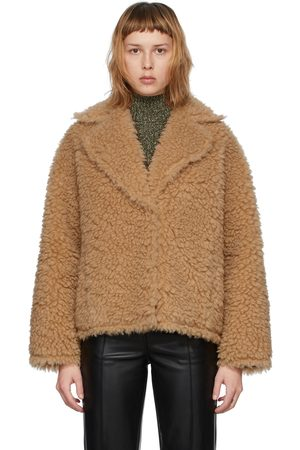 Stand Studio Faux-Fur Sherry Jacket