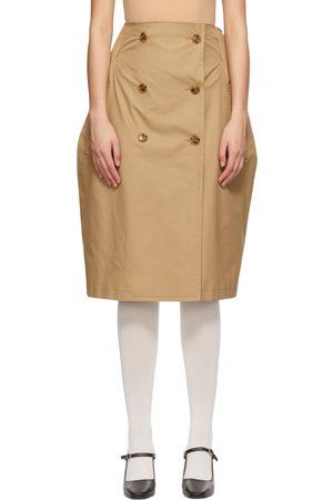 MM6 Maison Margiela Gabardine Transformative Skirt