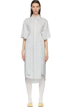 MM6 Maison Margiela Stripe Shirt Dress