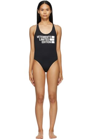 VETEMENTS 'Limited Edition' One-Piece Swimsuit