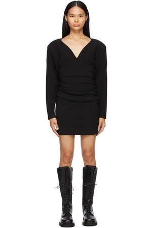 Magda Butrym Wool Long Sleeve Short Dress