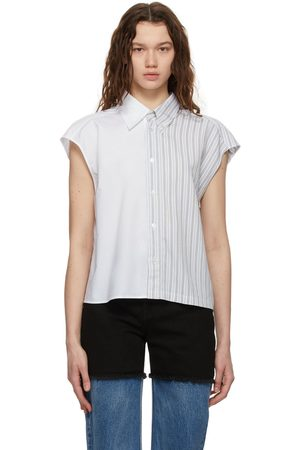 MM6 Maison Margiela Paneled Stripe Shirt