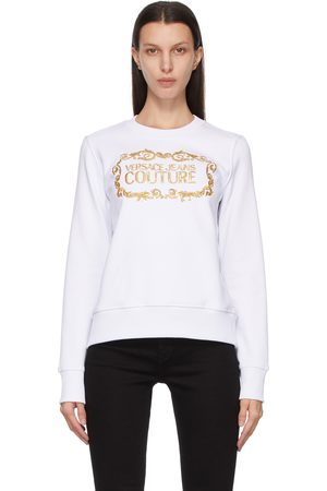 Versace Jeans Couture & Gold Institutional Logo Sweatshirt