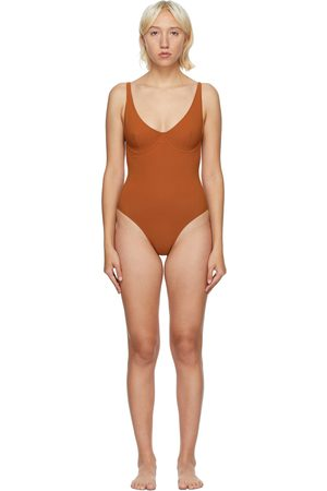 Lido Orange Diciotto One-Piece Swimsuit