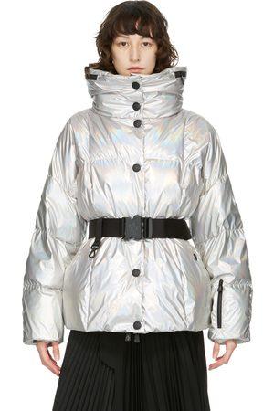 Moncler Grenoble Down Metallic Coat
