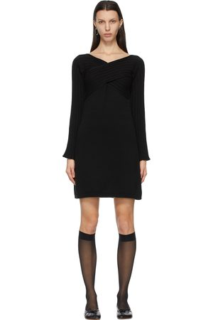 MM6 Maison Margiela Twist Sweater Dress