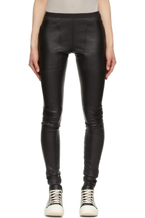 Rick Owens Stretch Leather Trousers