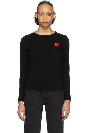 Comme des Garçons Play Heart Patch Sweater