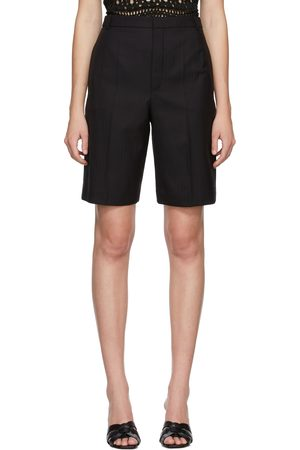 Saint Laurent Wool Bermuda Shorts