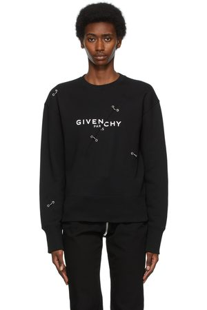 Givenchy Metal Detailing Logo Sweatshirt