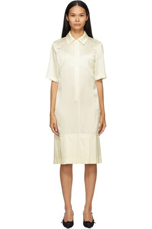 Commission SSENSE Exclusive Off-White Bralette Shirt Dress