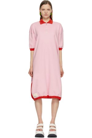 Sunnei & Knit Polo Dress