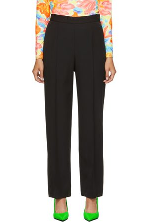 Balenciaga Wool Front Pleat Trousers