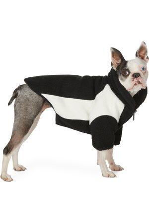 We11done SSENSE Exclusive Reversible & Off- Oversized Fleece Dog Jacket